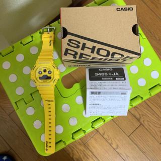 ジーショック(G-SHOCK)のG-SHOCK Gショック DW-5900RS-9JF イエロー(腕時計(デジタル))