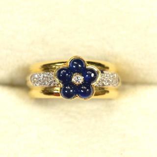 ポンテヴェキオ(PonteVecchio)のK18 ポンテヴェキオ サファイア ダイヤ 指輪(リング(指輪))