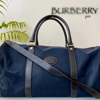 バーバリー(BURBERRY)のBurberrys バーバリー 2way 大容量 レザーボストンバッグ 鞄(ボストンバッグ)