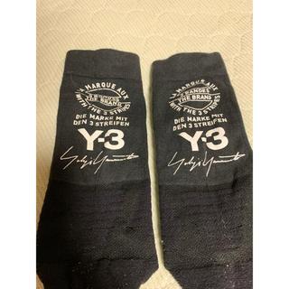 ワイスリー(Y-3)のy-3 ソックス ブラック(ソックス)