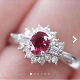 トクトクジュエリー 色良い ルビー ゴージャス ダイヤモンド リング(リング(指輪))