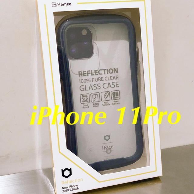 Adidas iPhone 11 ProMax ケース / iFace リフレクション iPhone11Pro用 ネイビーの通販 by よみぃ's shop|ラクマ