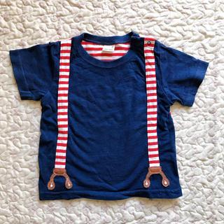 プティマイン(petit main)のプティマイン Tシャツ マリン(Tシャツ/カットソー)