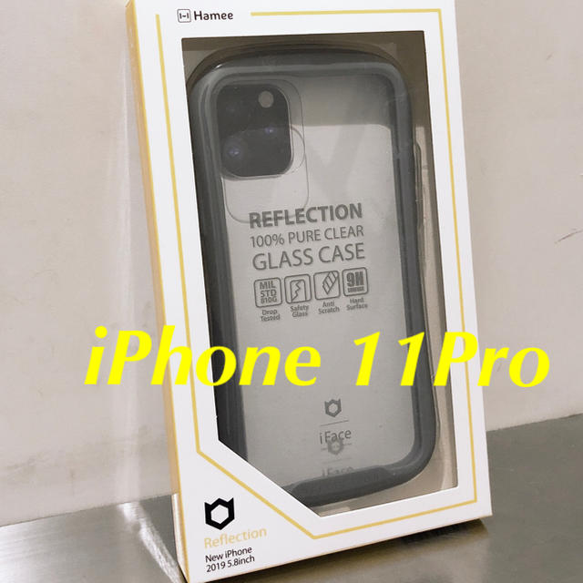 iphone ケース チェキ - iFace リフレクション iPhone11Pro用 グレーの通販 by よみぃ's shop|ラクマ