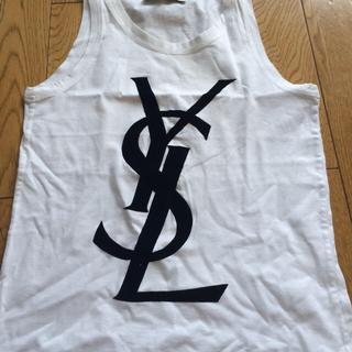 サンローラン(Saint Laurent)のイブサンローランシャツ(カットソー(半袖/袖なし))