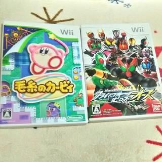 ウィー(Wii)のWii ソフト 2枚セット(家庭用ゲームソフト)