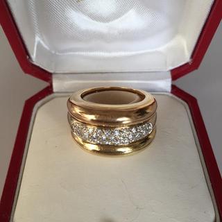 カルティエ(Cartier)の補償付き発送♡ 高島屋 直営店 カルティエ ダイヤ 3連リング♡トリニティリング(リング(指輪))