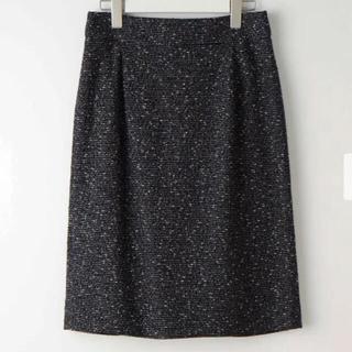 プラステ(PLST)のプラステ ツイードスカート xs(ひざ丈スカート)