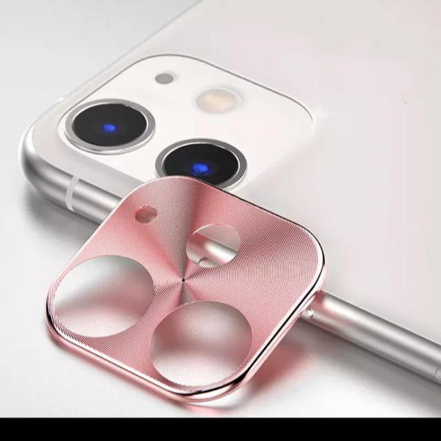 カメラ保護リング 新品 iPhone11用 ピンクの通販 by Masterpiece|ラクマ