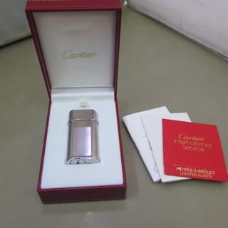 カルティエ(Cartier)の◆☆Cartier☆ カルティエ ガスライター ゴドロン 難有(タバコグッズ)