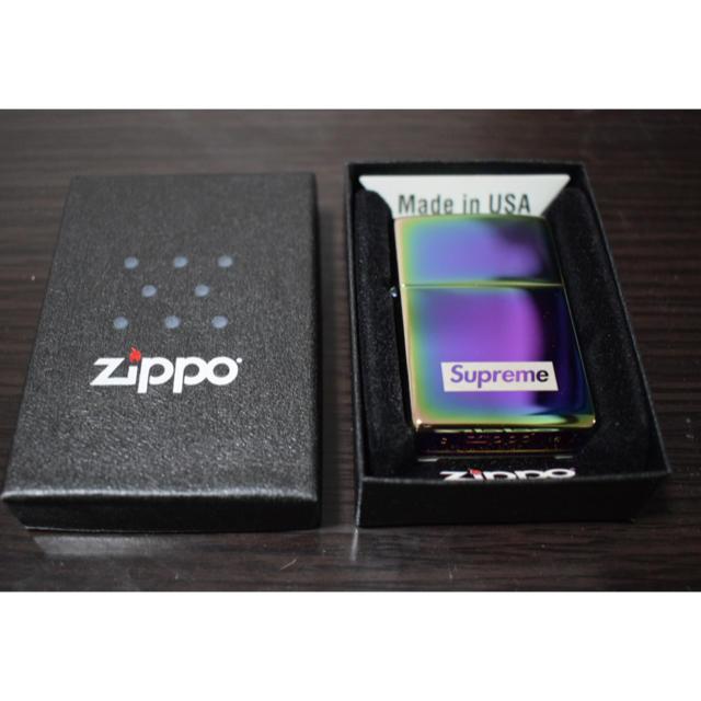 Supreme(シュプリーム)のsupreme Specturn Indescent ZIPPO ライター メンズのファッション小物(タバコグッズ)の商品写真