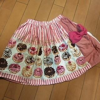 Shirley Temple - シャーリーテンプル ドーナツプリント スカート サイズ130