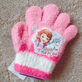 ディズニー(Disney)のソフィア ユニコーン 手袋(手袋)