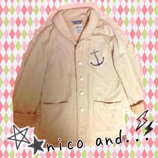 ニコアンド(niko and...)のホワイト☆ジャケット(テーラードジャケット)