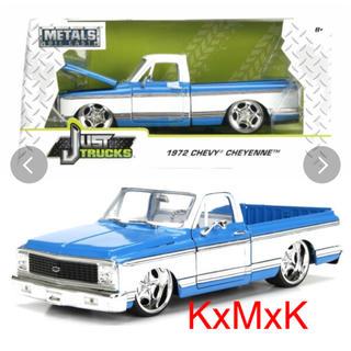 シボレー(Chevrolet)の1972 CHEVY CHEYENNE PICKUP  LOWRIDER(ミニカー)