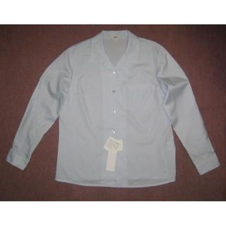 新品 5号 オフィスブラウス 事務服 OL制服 小さいサイズz(シャツ/ブラウス(長袖/七分))