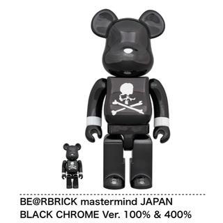 メディコムトイ(MEDICOM TOY)のbearbrick mastermind japan 400% 100% 2G(その他)