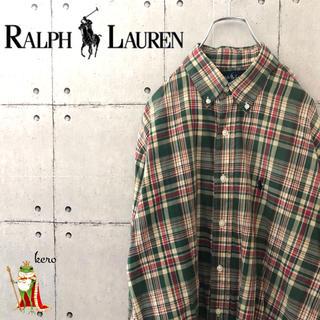 ラルフローレン(Ralph Lauren)の【超レア】90s ラルフローレン BLAKE BDシャツ チェック(シャツ)