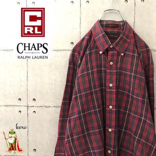 ラルフローレン(Ralph Lauren)の【超レア】90s ラルフローレン チャプス BDシャツ チェック(シャツ)