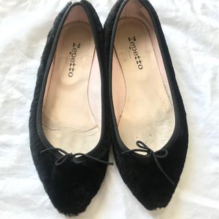 レペット(repetto)のレペット ブリジット エコファー バレエシューズ repetto 靴(バレエシューズ)