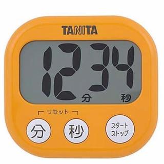 【新品、未使用】タニタ タイマー   大画面で簡単、便利