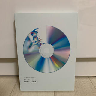 アラシ(嵐)のuntitled 初回限定版 Blu-ray(アイドル)