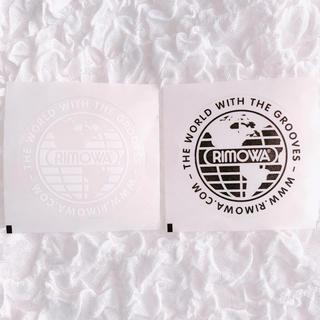リモワ(RIMOWA)の新品 RIMOWA リモワ  ノベルティ ステッカー 2枚 スーツケース(トラベルバッグ/スーツケース)