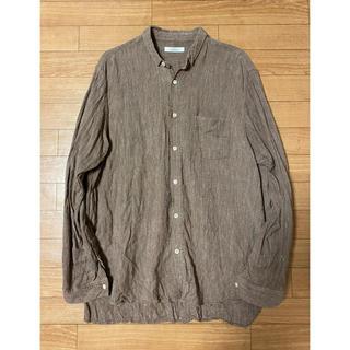 ネストローブ(nest Robe)のCONFECT リネンストライプシャツ(シャツ)