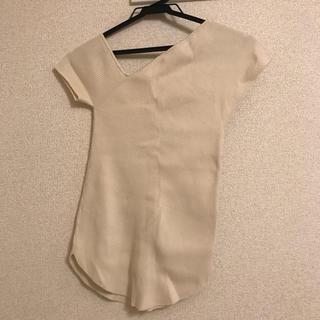ラグナムーン(LagunaMoon)のLAGUNAMOON  トップス(カットソー(半袖/袖なし))