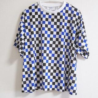 ファセッタズム(FACETASM)のファセッタズム チェッカー  ビッグTシャツ(Tシャツ/カットソー(半袖/袖なし))
