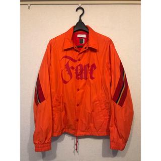 ファセッタズム(FACETASM)のFACETASM リブコーチジャケットRIB COACH JACKET オレンジ(ナイロンジャケット)