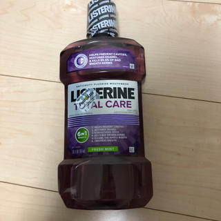 リステリン(LISTERINE)の大容量1L薬用マウスウィッシュ(新品)(マウスウォッシュ/スプレー)