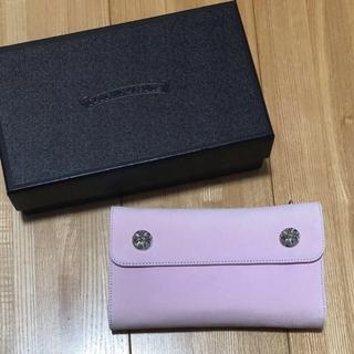 クロムハーツ(Chrome Hearts)のクロムハーツ INJAPAN様 ハワイ限定 レア ピンク 新品 クロム バッグ (財布)