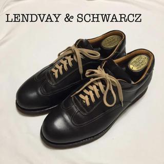 LENDVAY & SCHWARCZ 革靴 濃茶 ヴィンテージ men's(ドレス/ビジネス)