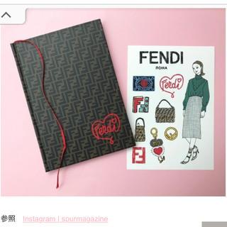 フェンディ(FENDI)のフェンディ ノート(ノート/メモ帳/ふせん)