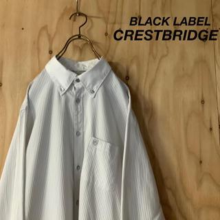 ブラックレーベルクレストブリッジ(BLACK LABEL CRESTBRIDGE)の美品 BLACK LABEL CRESTBRIDGE ストライプ BDシャツ(シャツ)