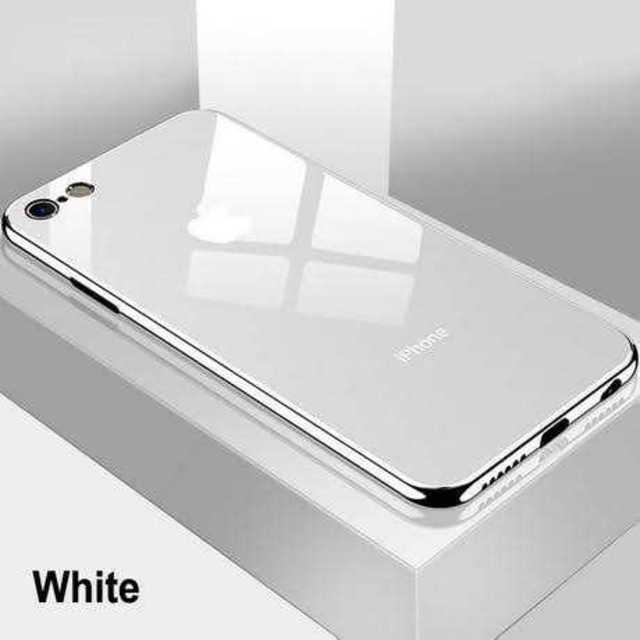 iphone 11 pro ケース prada - Apple - 白★鏡面 ミラーオシャレ ガラス iPhone7/11Pro カバー★の通販 by ポポ's shop|アップルならラクマ