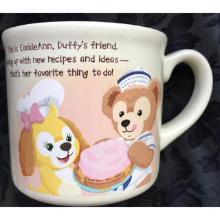 ダッフィー(ダッフィー)のクッキーアン ダッフィー ディズニーシー限定マグカップ(グラス/カップ)