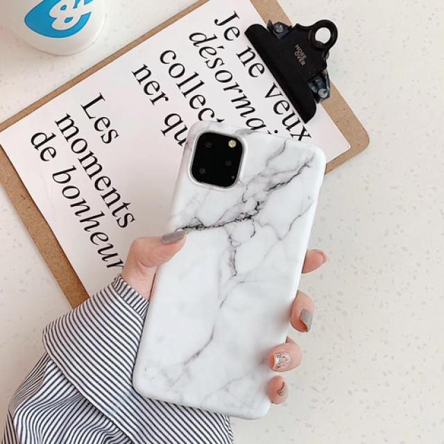 iphone 11 ケース 手帳型 背面クリア | 【iPhone11Pro ホワイト】大理石調マーブル TPUの通販 by LION's shop|ラクマ