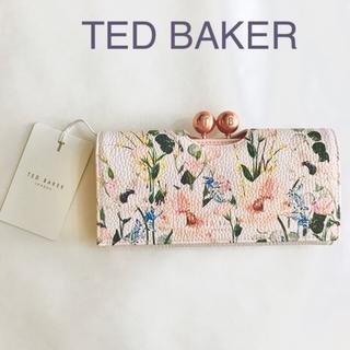 TED BAKER - ★新品★TED BAKER テッドベイカー 長財布 花柄 ピンク