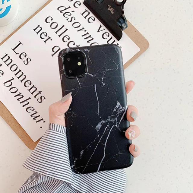 supreme iPhone 11 Pro ケース レザー - 【iPhone11Pro ブラック】大理石調マーブル TPUの通販 by LION's shop|ラクマ
