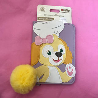 ダッフィー(ダッフィー)のクッキー パスポートカバー パスポートケース(旅行用品)