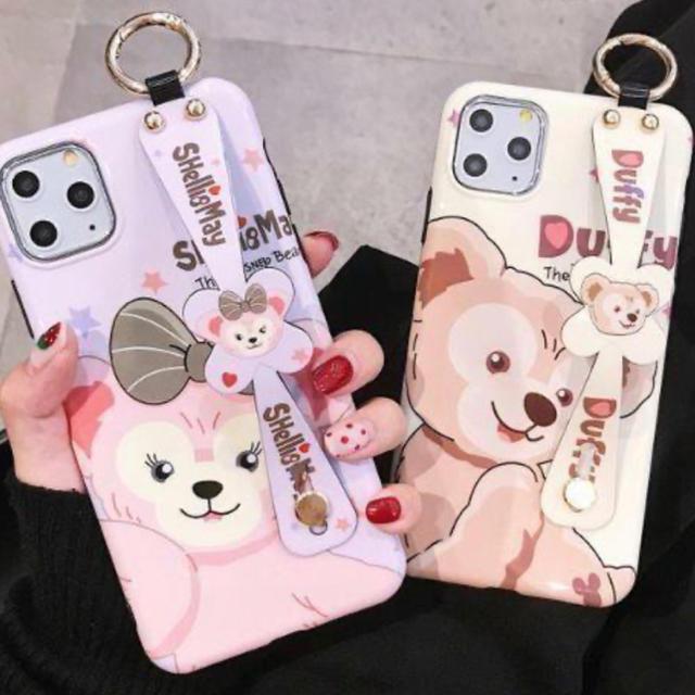フェンディ iPhoneSE ケース | ダッフィー - ダッフィーシェリーメイディズニーアイフォンケーススマホiPhone11proの通販 by mocarron's shop|ダッフィーならラクマ