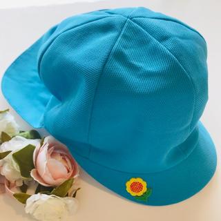 ♡保育園・幼稚園 園児用帽子 青白帽♡(帽子)