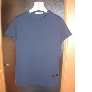 プラダ(PRADA)の★【PRADAスポーツ】★レディスのストレッチTシャツ(ネイビー)★(Tシャツ(半袖/袖なし))