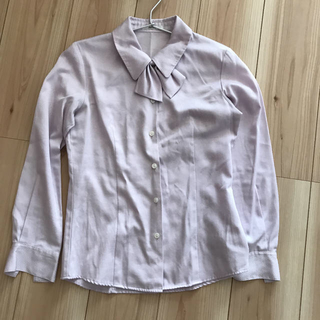 Rizal 事務服  制服 オフィス ブラウス オーキッド (シャツ/ブラウス(長袖/七分))