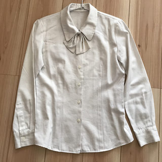 Rizal  事務服 制服 ブラウス ホワイト オフィス(シャツ/ブラウス(長袖/七分))