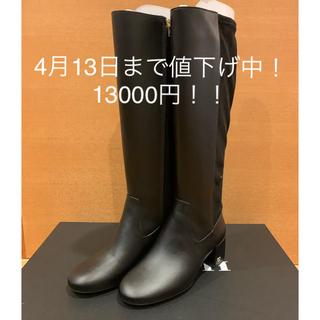 COACH - コーチ ロングブーツ黒 23cm