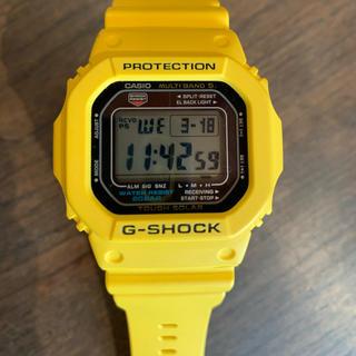 カシオ(CASIO)のカシオ G-SHOCK  GW-M5600A イエロー(レア色)(腕時計(デジタル))