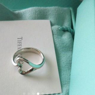 ティファニー(Tiffany & Co.)の新品ティファニーオープンハートリングサイズ9号(リング(指輪))
